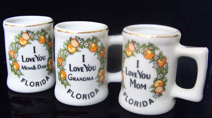 Florida Souvenir Mini Mug-florida souvenir mug mom dad grandma