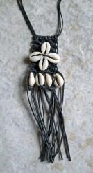 Cowry Pendant Necklace