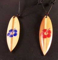 Flower Surfboard Necklace