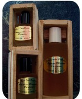 FloraLinda Orange Blossom Perfume in a Crate-orange blossom perfume florida souvenir crate