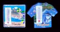 Florida Souvenir Magnet & Thermometer