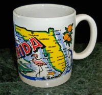 Florida Map Mug