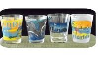 Florida Souvenir & Gator Shot Glasses