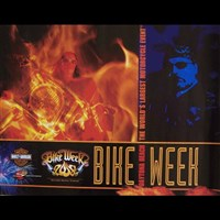 Bike Week 2008 Official Poster