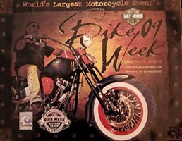 Bike Week 2009 Official Poster