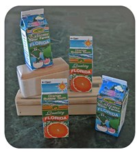 Bubble Gum Cartons - Oranges or Gator Eggs