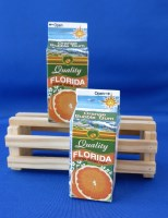 Bubble Gum Orange Juice Carton-bubble gum orange souvenir florida gumballs