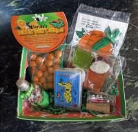 Christmas Goodies Tray-christmas basket gift tray