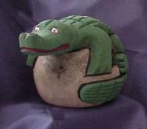 Coconut Alligator Bank