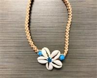 Cowry Flower Choker