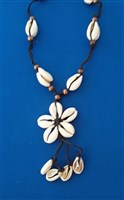 Cowry Shell Flower Necklace