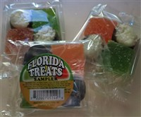 Florida Treats Candy Sampler-Florida Treats Sampler Coconut Jelly