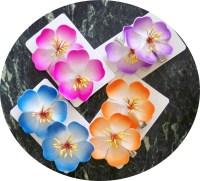 Hibiscus Flower Clip Barrettes