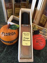 FloraLinda Orange Blossom Perfume in a Crate