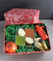 Florida Souvenir Gift Tin with Orange Blossom Perfume