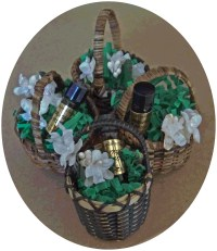 FloraLinda Orange Blossom Perfume Micro Basket-perfume orange blossom florida souvenir floralinda