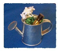 Orange Blossom Perfume Watering Can Party Favor-