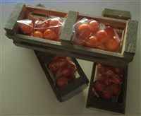 Orange Gumball Crate-gum gumball crate florida souvenir