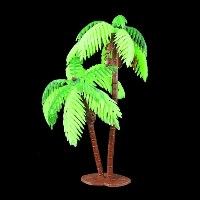 Plastic Palm Tree Decoration