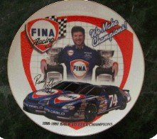 NASCAR Collector's Plate - Randy LaJoie-nascar randy lajoie collectible plate