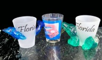 More Florida Souvenir & Gator Shot Glasses