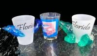 More Florida Souvenir & Gator Shot Glasses