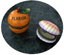 FloraLinda Solid Perfume Collectibles-orange,blossom,perfume,florida,souvenir
