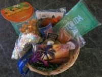 Florida Souvenir Gift Basket