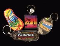 Florida Souvenir Acrylic Key Rings