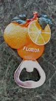Orange Magnetic Bottle Opener