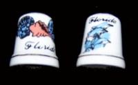 Florida Souvenir Thimble