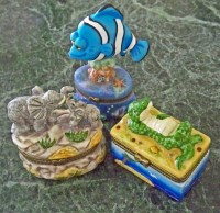 Trinket Boxes - Fish, Elephants, or Gator